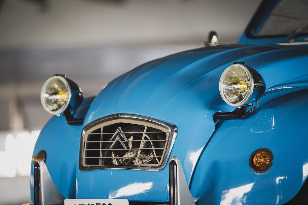 2CV ブルー Citroën シトロエン レンタル クラシック 旧車