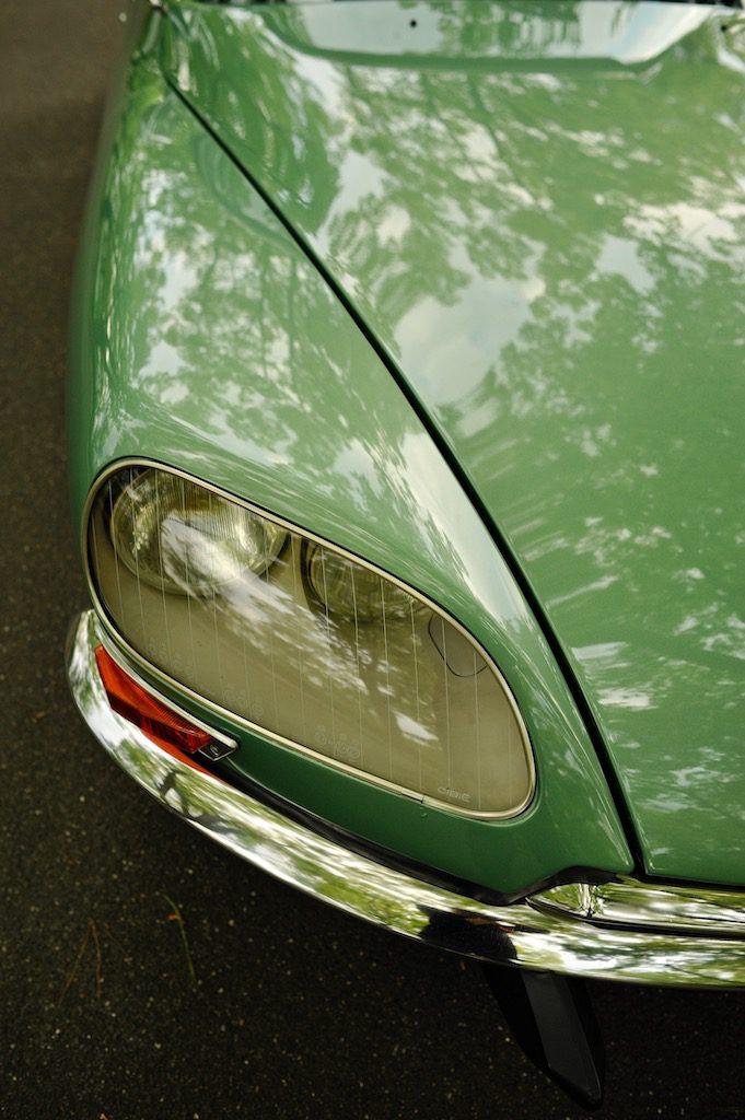 DS23 グリーン Citroën シトロエン クラシック 旧車 DS